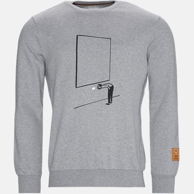 Regular fit | Sweatshirts | Grå